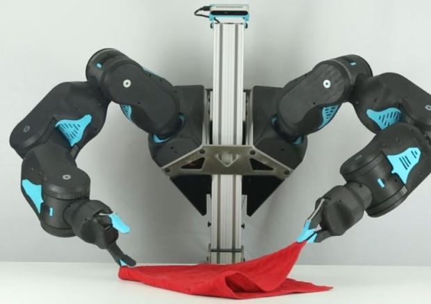 Blue, il robot