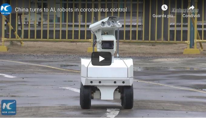 Robot #coronavirus