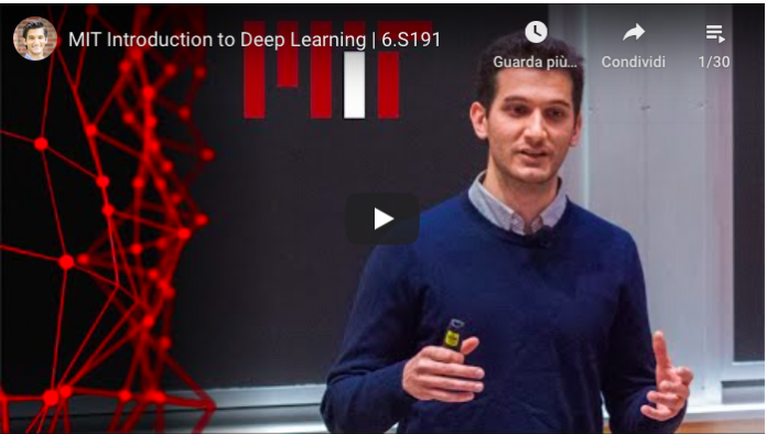 Introduzione al Deep Learning